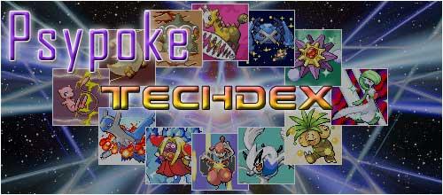 Psypoke's TechDex